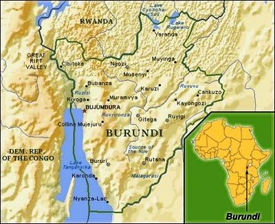 Gud elsker Burundi, så resten af Afrika kan få virussen?