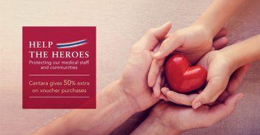 "Centara Hotels & Resorts pokreće kampanju ""Help the Heroes"""