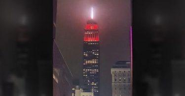 Salute Hourly: ອາຄານ Empire State Building ຈະສະຫວ່າງໄປດ້ວຍສີສັນ
