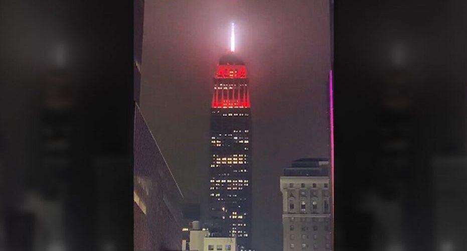 Tunneittain tervehdys: Empire State Building tulee kimaltelemaan väreillä