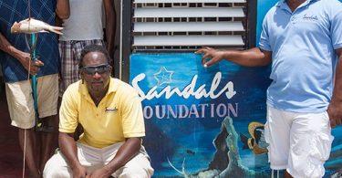 Fondation sandals: am-polony taona niatrehana an'i Karaiba