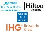 Marriott, Hyatt, IHG, Hilton, Best Western, Choice Hotels, Radisson, syarat Wyndham kanggo status elite 2021