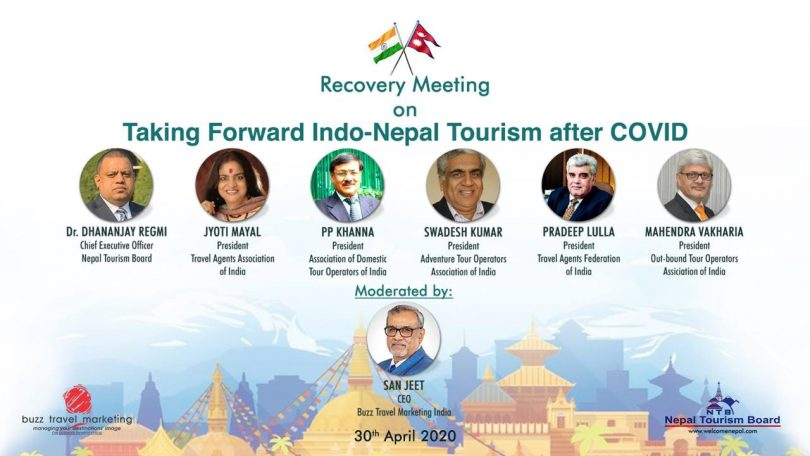 Nepal Tourism Board: Taking forward Indo-Nepal Tourism after COVID crisis