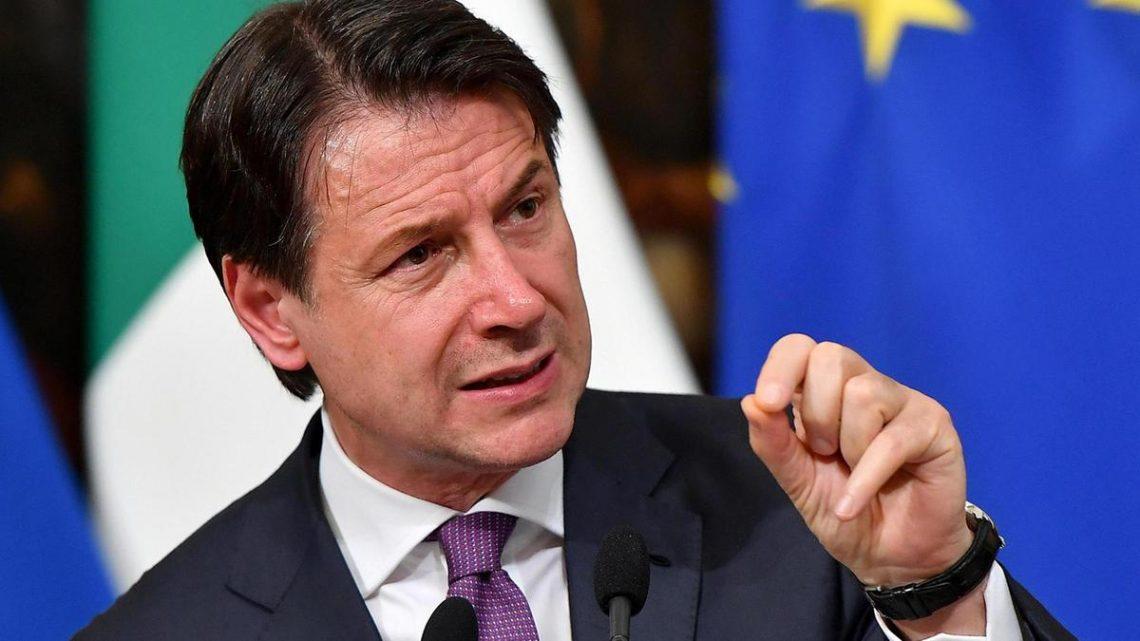 Primeiro-ministro Conte: Itália suspenderá as restrições de viagens em 3 de junho