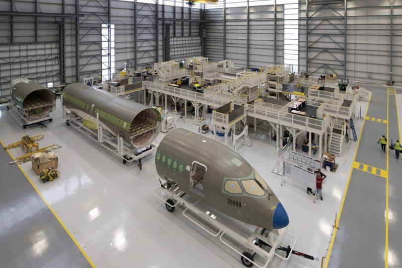 ایرباس آشیانه تولید A220 را در آمریکا افتتاح می کند و از مشتری دوم آمریکایی استقبال می کند