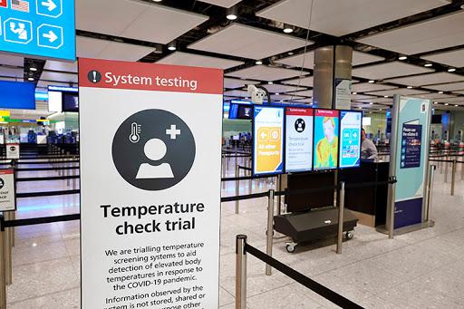 تجهیزات غربالگری دما در فرودگاه هیترو آزمایش شده است