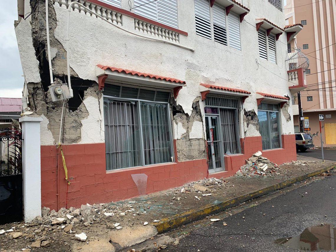 У Пуэрта-Рыка адбыўся моцны землятрус