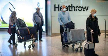 يتعين على الوافدين الجدد إلى المملكة المتحدة الآن قضاء أسبوعين في الحجر الصحي الإلزامي