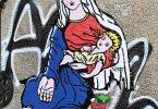 """""""Caritas"""": هنر خیابانی که فاجعه روزهای ما را برجسته می کند"""