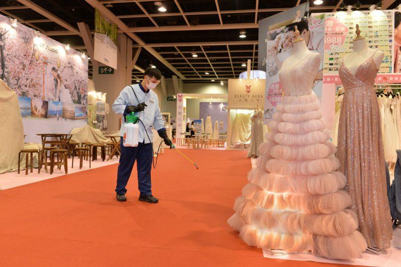 مرکز همایش ها و نمایشگاه های هنگ کنگ آماده استقبال از رویدادها است