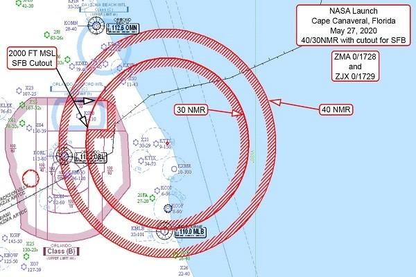 FAA فضای پرواز را برای پروازهای فضایی آینده محدود می کند