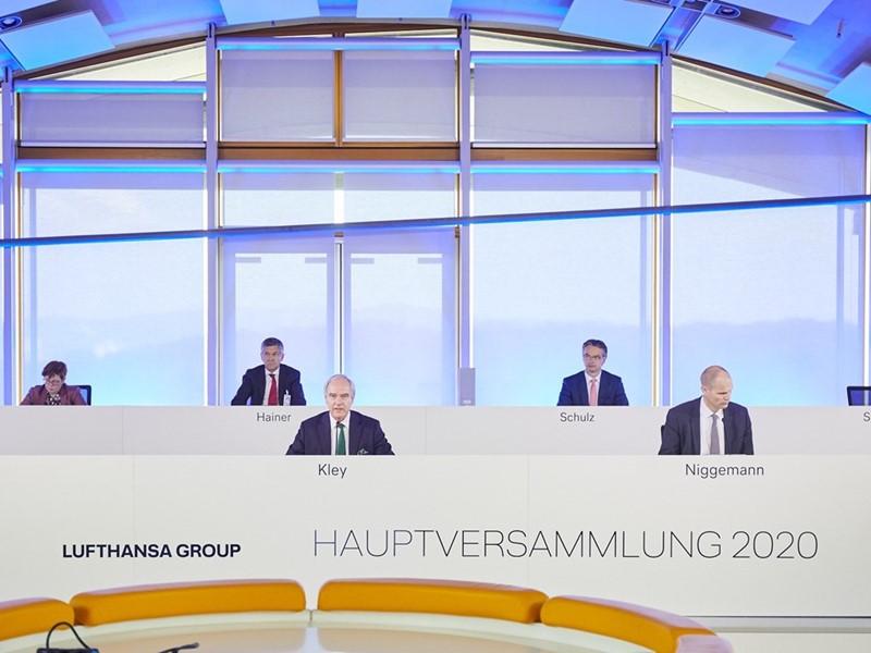 Lufthansa AG تصمیم در مورد دعوت مجمع عمومی را به تعویق انداخت
