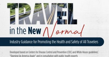 """US travel industry releases guidance for """"Travel in the New Normal"""""""