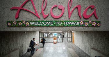 99.5 percent in April ibant et decrescebant usque ad Hawaiian Islands visitor advenis,