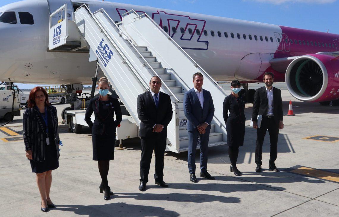 Wizz Air оголошує про нову базу в Ларнаці