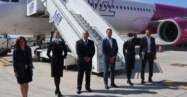 Fógraíonn Wizz Air bonn nua i Larnaca