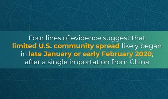 CDC confirma que coronavírus foi detectado já em janeiro