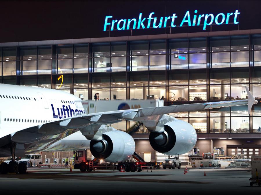 Aeroporto de Frankfurt planeja mais destinos a partir de junho