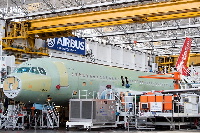 Airbus logs nine A320 family aircraft orders in April