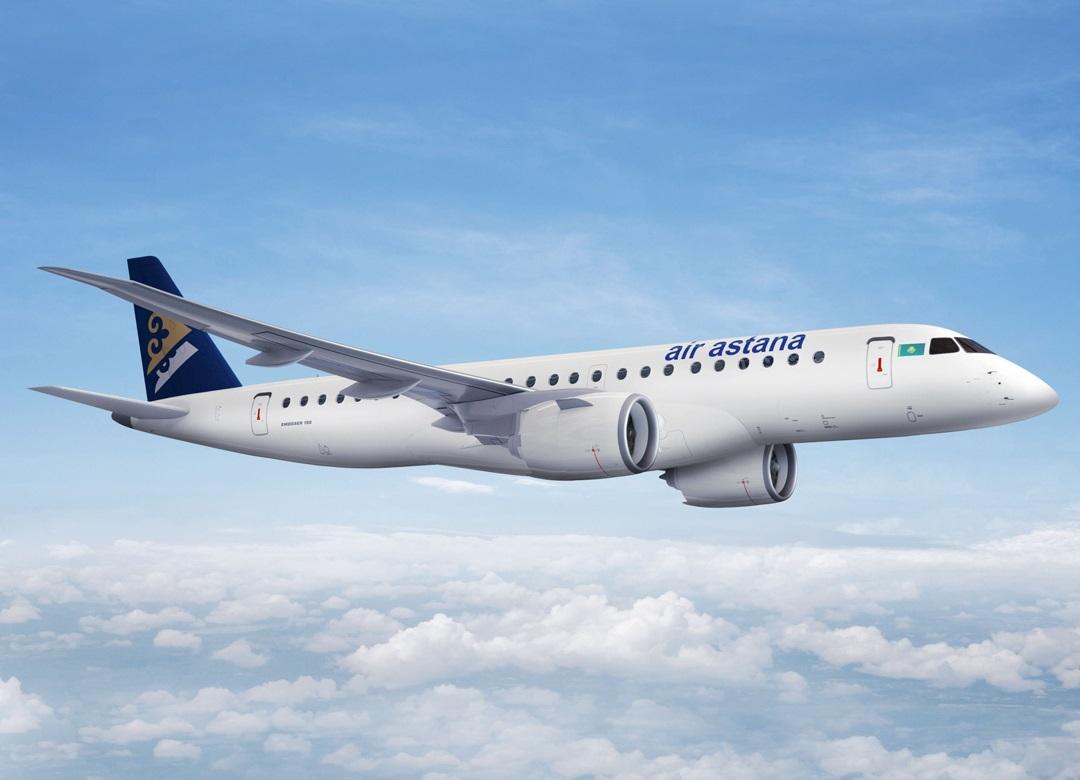 Air Astana jatkaa lentoja alueelliseen keskustaan Kazakstanissa