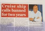 Cruise Ships banned for two years to avoid second COVID-19 outbreak