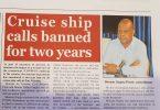 Krstarenje brodovima zabranjeno na dvije godine kako bi se izbjeglo drugo izbijanje COVID-19