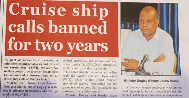 Výletní lodě byly zakázány na dva roky, aby se zabránilo druhému vypuknutí COVID-19