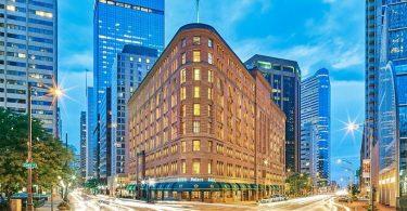 Brown Palace Hotel. Կառուցված է կովի արոտավայրի վրա