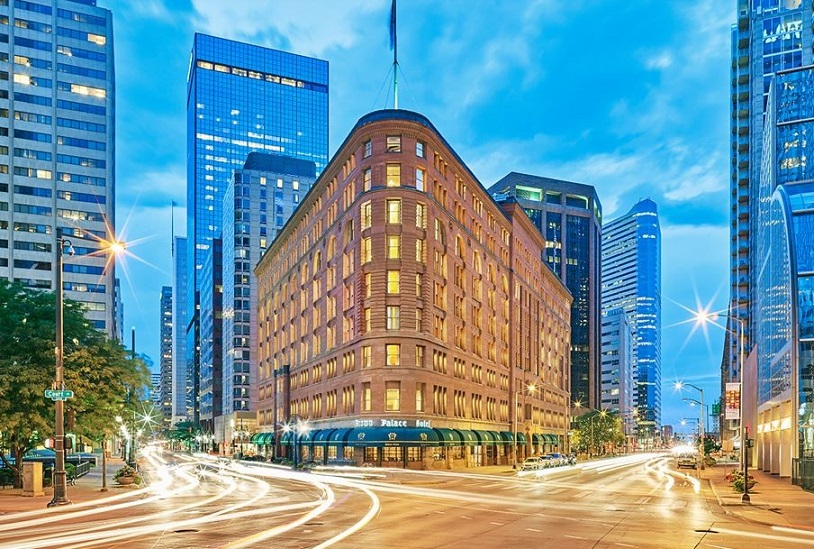 Brown Palace Hotel: Built on a Cow Pasture