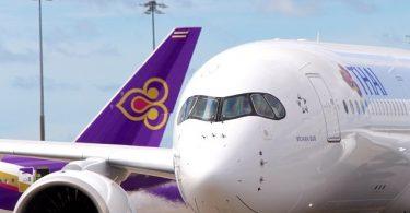 """Aghaidheanna Thai Airways """"Beatha nó Bás"""" le Lúide Tacaíochta"""
