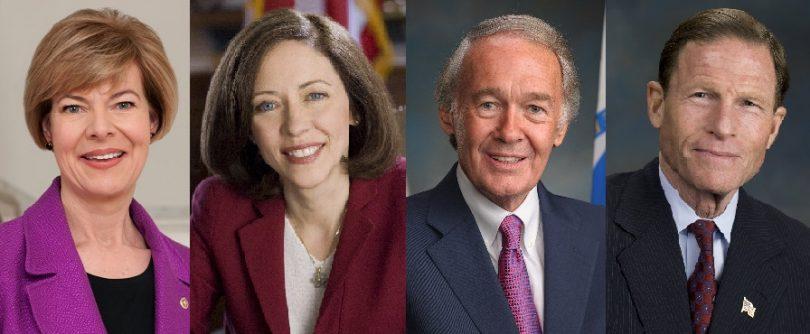 سناتورهای آمریکایی مارکی ، کانتول ، بالدوین و بلومنتال خواستار تمرکز DOT بر محافظت از مسافران هوایی هستند