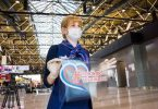 Moscow's Sheremetyevo International Airport marks Russia Day national holiday