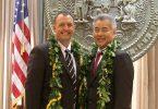 ハワイ州知事が島間空の旅の再開を発表