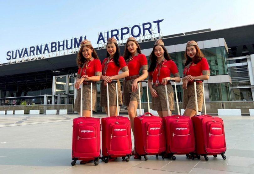 Vietjet پنج مسیر داخلی جدید تایلند را راه اندازی می کند