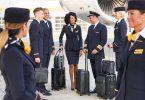 Grŵp Lufthansa i dorri 22,000 o swyddi