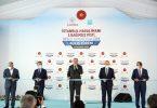 Der türkische Präsident weiht die dritte Landebahn am Flughafen Istanbul ein