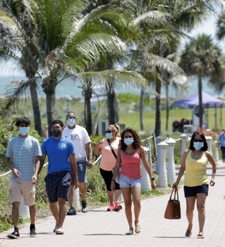 اکنون پوشش صورت در Florida Keys اجباری است