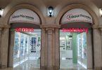 Nieuwe apotheek wordt geopend op de luchthaven Domodedovo in Moskou