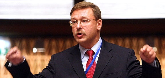Russian senator complains about EU 'violating' Russians 'right to travel'