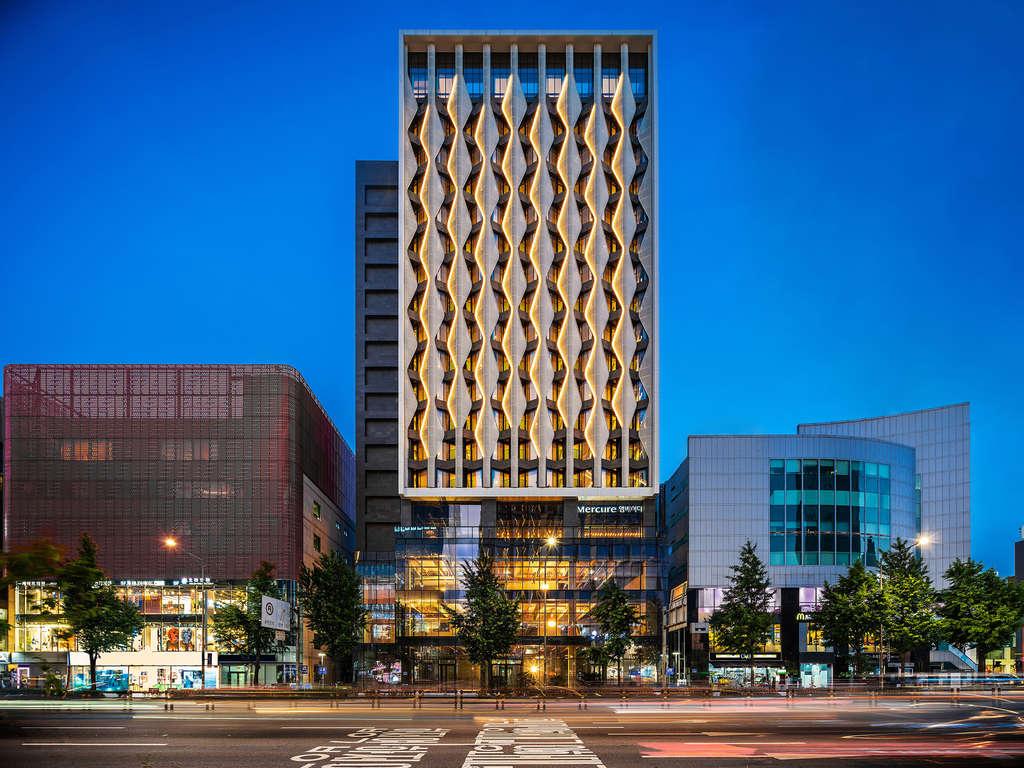 न्यू मर्क्योर होटल सियोल के ट्रेंडी होंगडे जिले में खुलता है