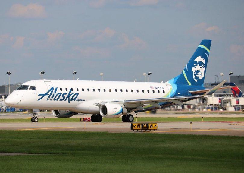 خطوط هوایی آلاسکا پرواز Embraer 175 را در مسیرهای داخل کشور آغاز می کند