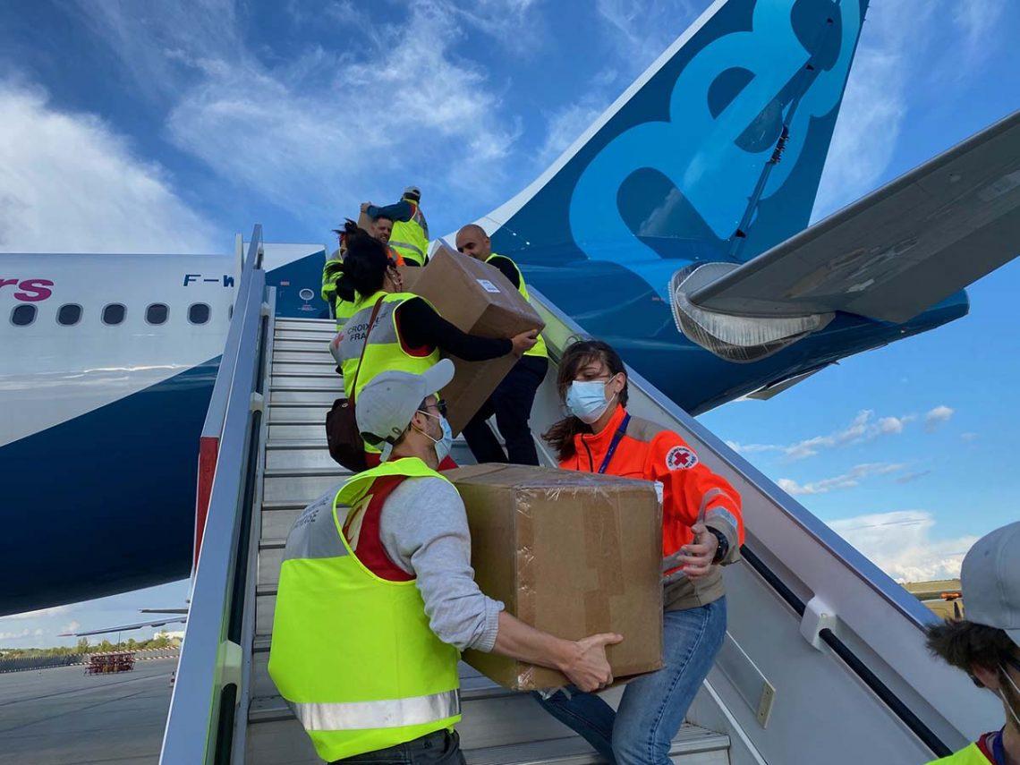 エアバス財団がCOVID-19とエボラ救援飛行を完了する