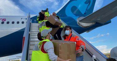 Airbus Foundation pabeidz COVID-19 un Ebola palīdzības lidojumu