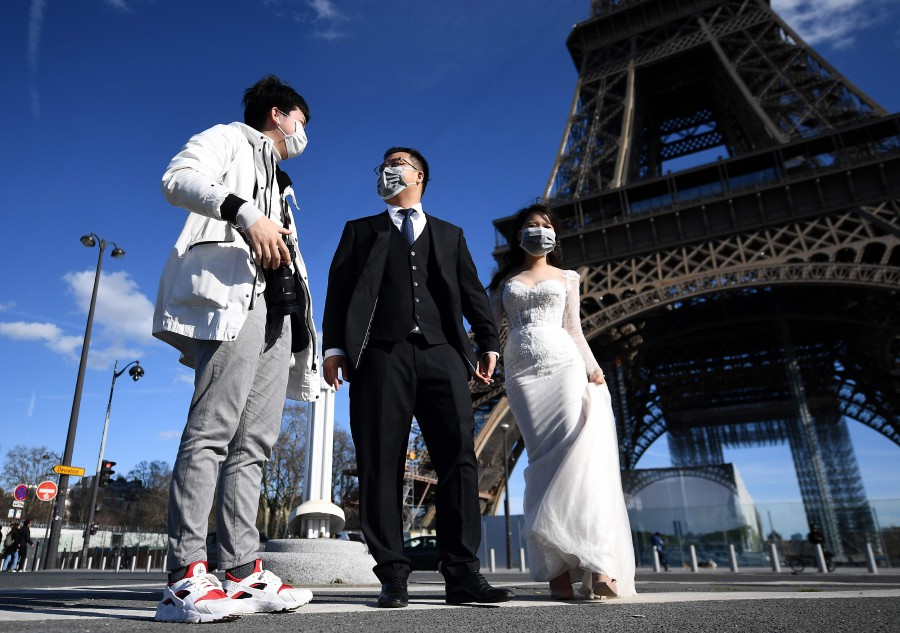 Staircases only: Eiffel Tower welcomes back tourists today