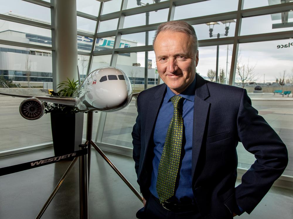 WestJet announces organizational changes to secure its future