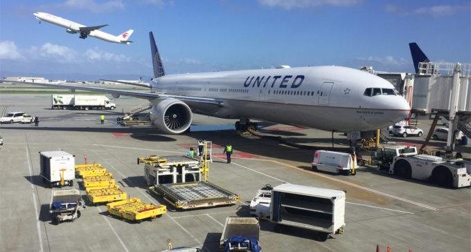 United Airlines retoma voos de Xangai saindo de San Francisco