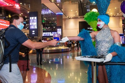 Keng Mask, keng Wierfel: Obligatoresch Masken un fir Las Vegas
