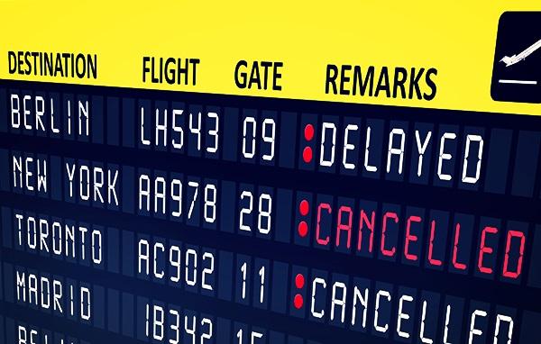 شرکت گزارشگری هواپیمایی تغییرات برنامه هواپیمایی را انجام می دهد