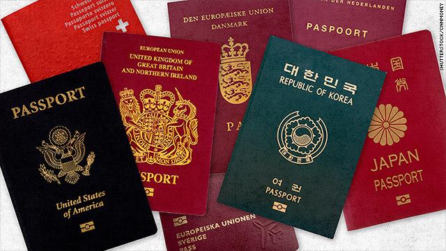 گذرنامه های اروپایی بر ده فهرست برتر قدرتمندترین پاسپورت های جهان تسلط دارند