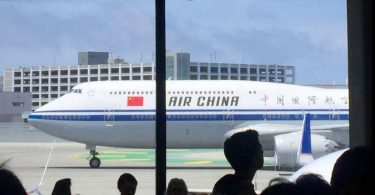 کاهش چشمگیر خدمات هوایی از چین به ایالات متحده